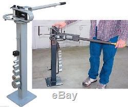 1- 3 Hand Manual Floor Type Compact Bender Bending Metal Fabrication & Welding