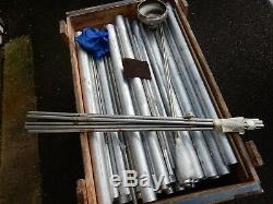 1000mmx63.5 mm Aluminium Round Bar Milling Welding Metal working 21/2