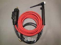 12' HTP Tig Kit compatible with Lincoln Power Mig 210 MP Welder K3963-1