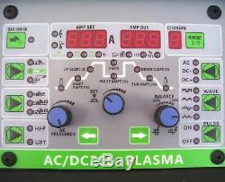 13750 Welder Apex Ac / DC Tig 200 Pulse + Plasma Cutter Hf Inverter Arc Stick