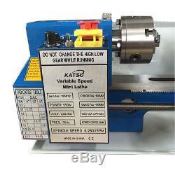 165012 14 Mini Lathe Machine 100mm Chuck CJ0618