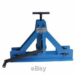 165119 KATSU Square Tube Pipe Roller Rolling Bender & Fabrication Mild Steel