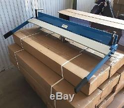 165149 Sheet Metal Manual Folding Machine 1000mm Hand Brake Folder Free P&P