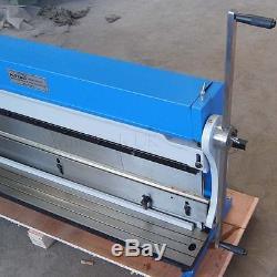 165182 3-In-1 Manual Sheet Metal Shear Brake Roller Bending Machine 1016mm