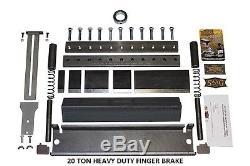 20 TON Finger Brake Heavy Duty DIY Builder Kit