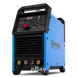 200 AMP TIG Welder Welding Machine Inverter Sherman DIGITIG 200GD AC DC Aluminum