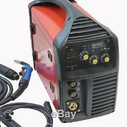 200 Amp MIG Welder MAG MMA (ARC) MIG200 Blackline Tools