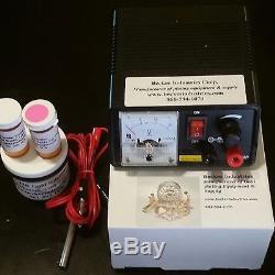 24kt Gold/Chrome/silver/Rhodium, Gold Plating Kit, Electroplating Kit