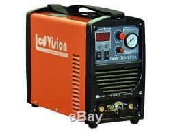 3in1 Schweissgerät TMC 123 Pro WIG TIG + MMA + Plasmaschneider Inverter IGBT