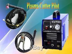 50A Plasma Cutter Pilot Arc 230V CNC Compatible WSD60p torch+10 consumable CUT50