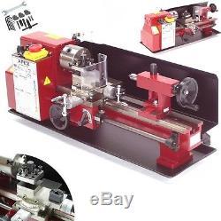 55449 Mini Metal Lathe 300 Metalworking Turning Lathe Bench Top Milling