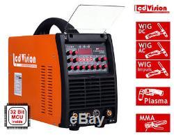 5in1 Pro Multi 205 AC/DC Schweissgerät WIG TIG Puls + MMA + Plasma 200A IGBT