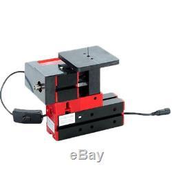 6 In 1 Multi Mini Metal Wood CNC Lathe Motorized Jig-saw Grinder Driller Milling