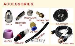 60A DIGITAL Plasma Cutter icut60 240V & AG60 TORCH &16mm cut IGBT plasma cutting