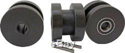 62 METZ TOOLS Bench Mounted Ring Roller Flat Bar Square Tube/Pipe roll Bender