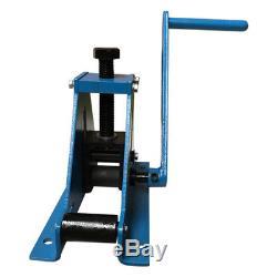 Exhaust Tubing Bender >> 69 Metz Tools Bench Mounted Ring Roller Flat Bar Square ...