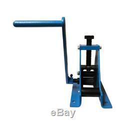 69 METZ TOOLS Bench Mounted Ring Roller Flat Bar Square Tube/Pipe Roll Bender