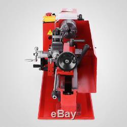 7x12 Mini Metal Lathe Metalworking Woodworking Spindle DC Motor Motorized