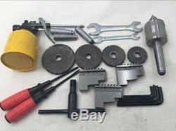 850W Variable Speed Mini Metal Lathe 220V Jade Screw Steel Processing 50-2500RPM