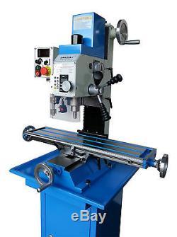 AMA25LV Milling Machine Long Table Version Brushless Motor