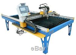 Alpha CNC plasma cutter 1300x2500m optional Hypertherm or cutmaster 4x8 table