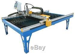 Alpha CNC plasma cutter 1300x2500m optional Hypertherm or cutmaster 4x8 table