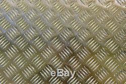 Aluminium Tread plate Chequer Kick Plate Treadplate 5 Bar Sheet various sizes