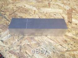 Aluminium bar 6082 T6, milling, welding, metal working 188mmX50mmX40mm