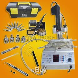Aoyue 866 Soldering Iron Station, Hot Air and Preheating Station 110 Volts