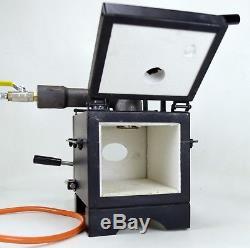BECMA Blacksmith`s Gas Forge for Knifemaking GFR. 2 neo