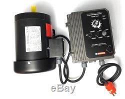 Belt Grinder Motor & VFD 2HP