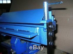 Bending sheet metal folder, bender 400mm (15.8) / 3mm Steel Quick delivery