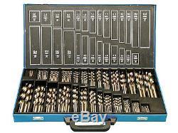 Bohrerset 230 tlg. HSS EG 1- 13mm Spiralbohrer Bohrer
