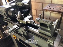 Boxford Modelmaking Engineering Lathe Turning Machining Single Phase