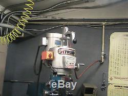 Bridgeport Milling Machine Power Feed Power Drawbar Tool Changer MILL
