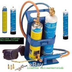 CFH SCHWEISS-FIX SF 3100, Schweißgerät mit. 3 Sauerstoff und 2 Gasflaschen