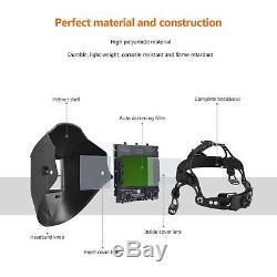 CFR500 Auto Darkening Welding Helmet Mask 4 sensors, DIN 9 to 13
