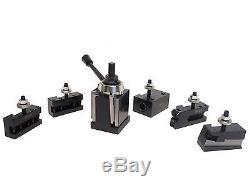 CXA Size Wedge Type Quick Change Tool Post Set 250-333 for Lathe 13- 18