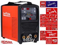 D-INV-160P WIG TIG Pulse Inverter Schweißgerät Digital DC MMA E-Hand 5-160A 230V