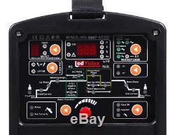 DIGI AC/DC-180P WIG TIG Puls Schweißgerät Waveform + E-Hand MMA 180A 32-bit MCU