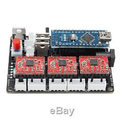 DIY CNC Milling Graviermaschine Fräsmaschine USB 3 Achse Router Portal Fräser
