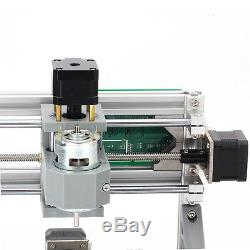 DIY CNC Router Kit USB Mini 3 Axis Wood Carving Engraving Machine PCB Milling