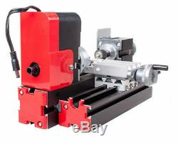 DIY Tool Metal Motorized Mini Lathe Machine 20000rev/min