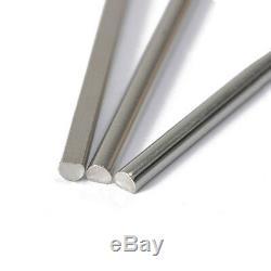 Dia. 3mm D-Type Stainless Steel Round Bar Rod Metal Milling Welding Metalworking