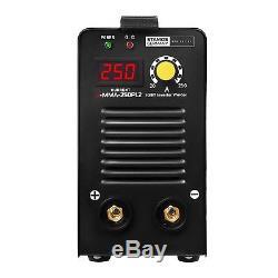 E-Hand-Schweißgerät Elektroden Schweißgerät MMA 250 A Schlauchpaket 8 Meter