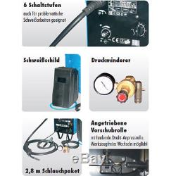 Güde Schutzgas Schweißgerät Schweissgerät MIG 155/6W