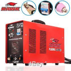 HAWK TOOLS 60amp PLASMA CUTTER 240v HF DC INVERTER GARAGE AIR CUT MACHINE