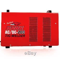 Hawk Tools 230v Ac DC 200a Inverter Steel Alloy Hf Tig Welder Welding Machine