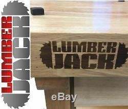 Heavy Duty Solid Wooden Woodworking Work Bench 2 Drawers Vice