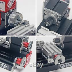 High Quality Motorized Mini Metal Working Lathe Machine DIY Tool for Hobby